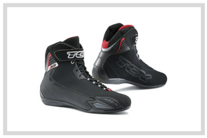 Short Motorcycle Boots
