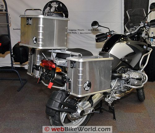 Hepco & Becker Luggage on BMW R 1200 GS