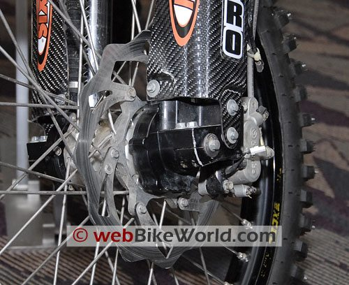 Christini All-Wheel Drive Motorcycle - Front Hub