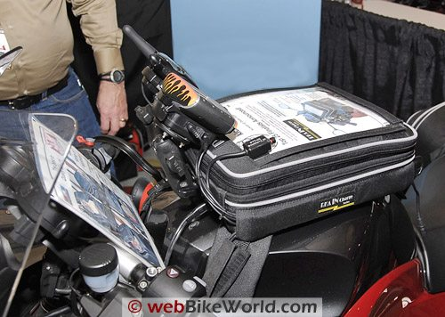 RKA IN-Side Tank Bag - Front