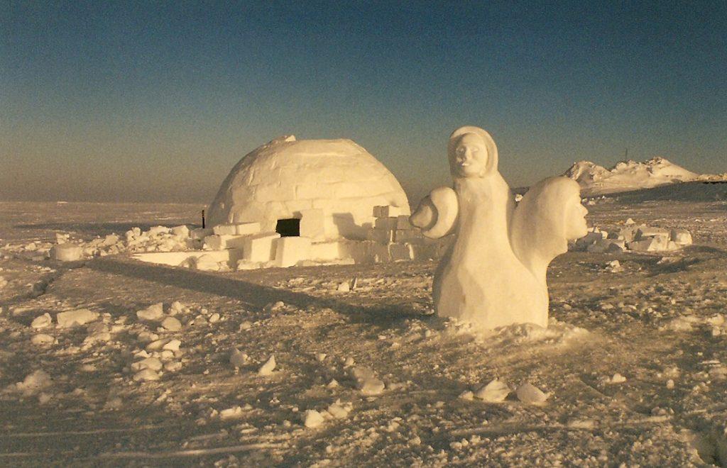 Igloo & Ice Sculpture