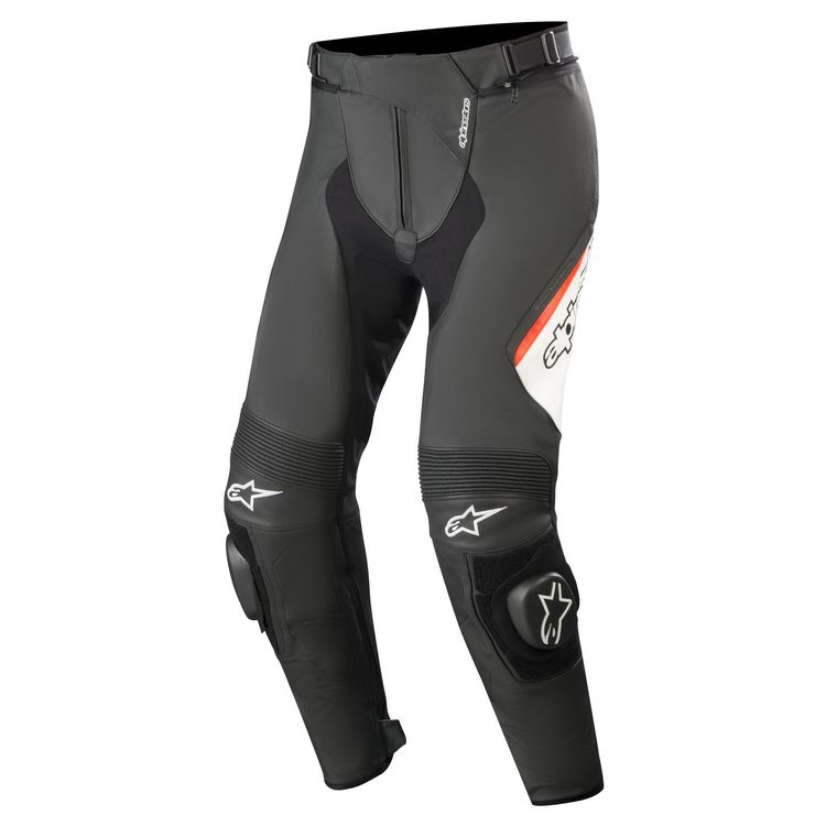 Alpinestars Missile v2 Leather Pants Front View