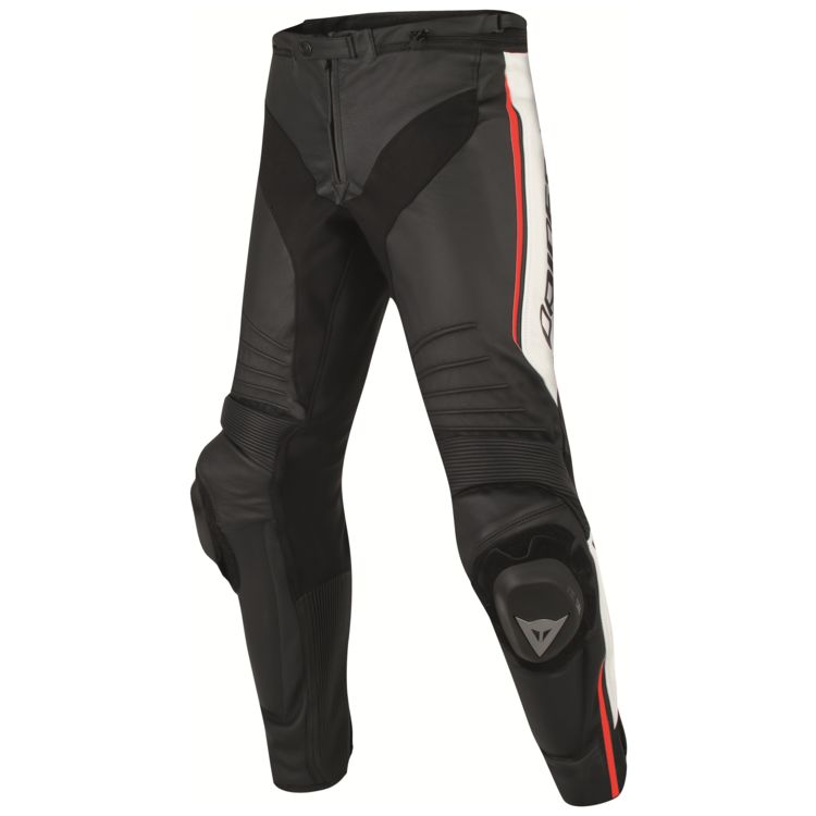 Dainese Misano Leather Pants Front View