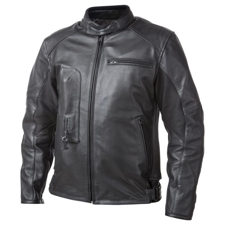 Helite Airbag Leather Sportbike Jacket
