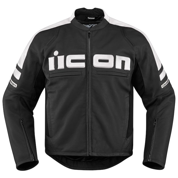 Icon Motorhead Leather Sportbike Jacket