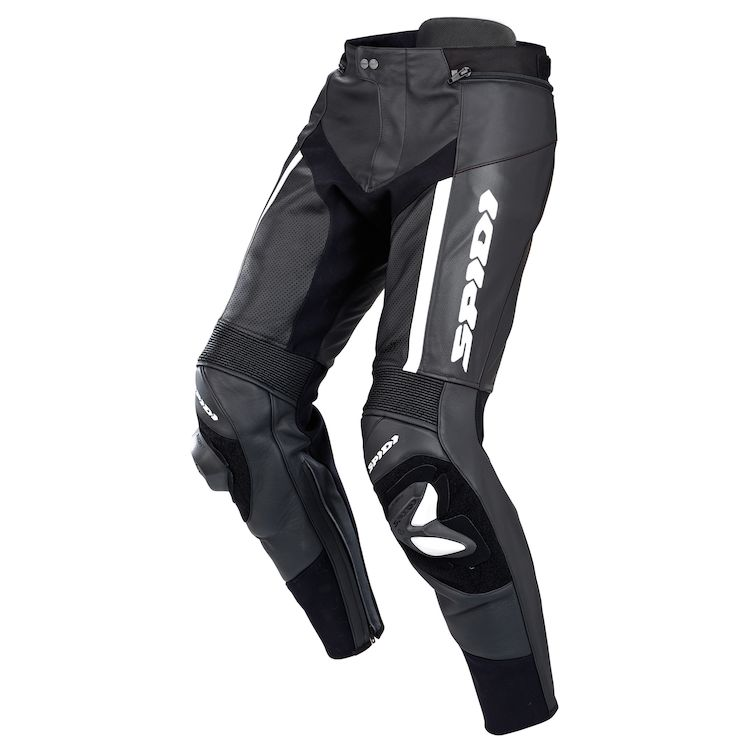 Spidi RR Pro Wind Leather Pants Front View