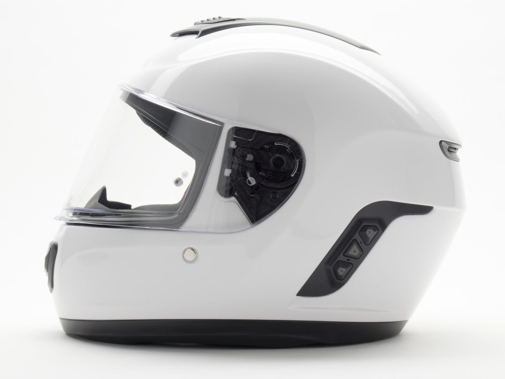 ALT: Sena Momentum Helmet Side View Left Side