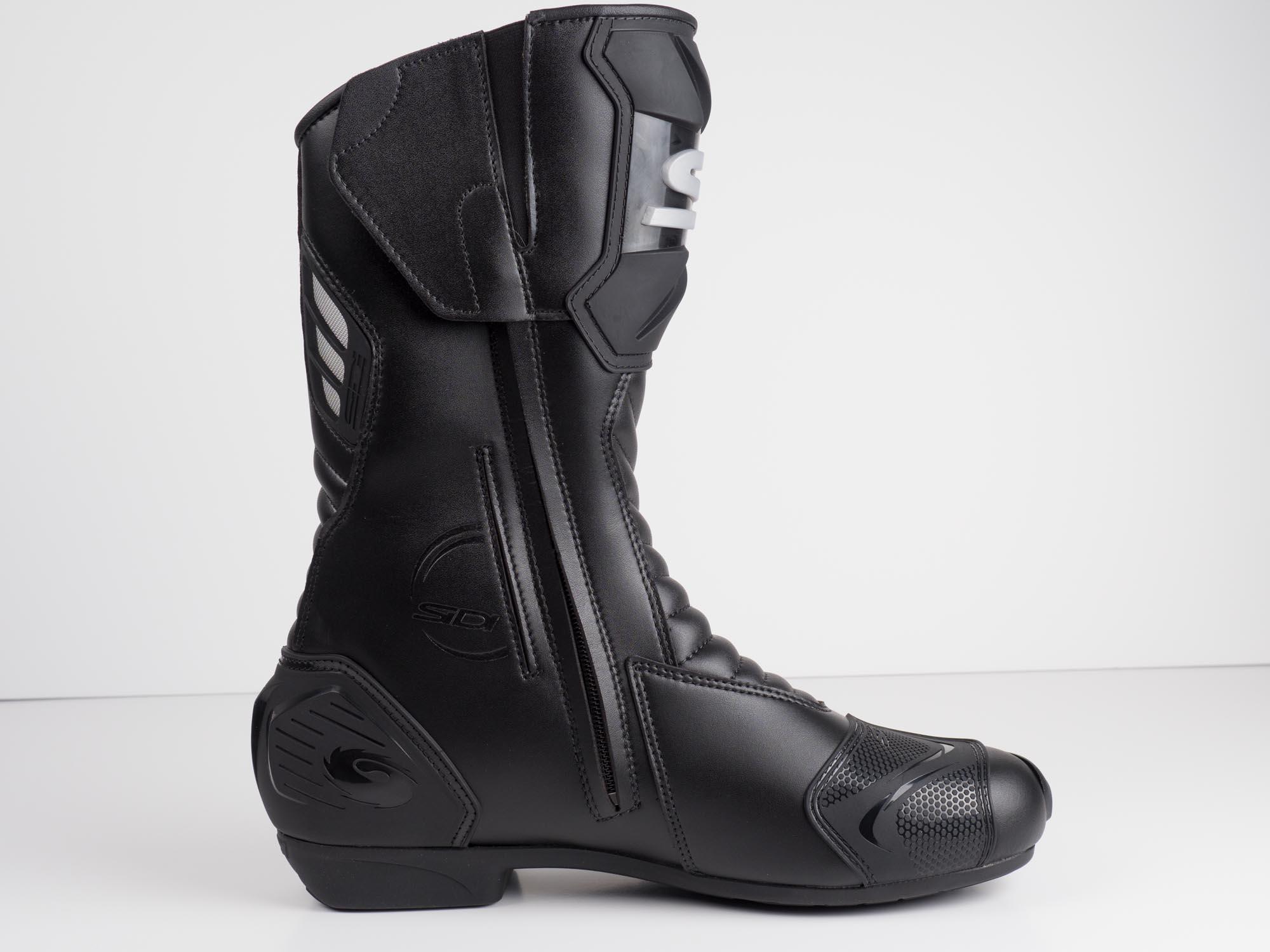Sidi Performer Gore-Tex Motorcycle Boots 7.5//41, Black
