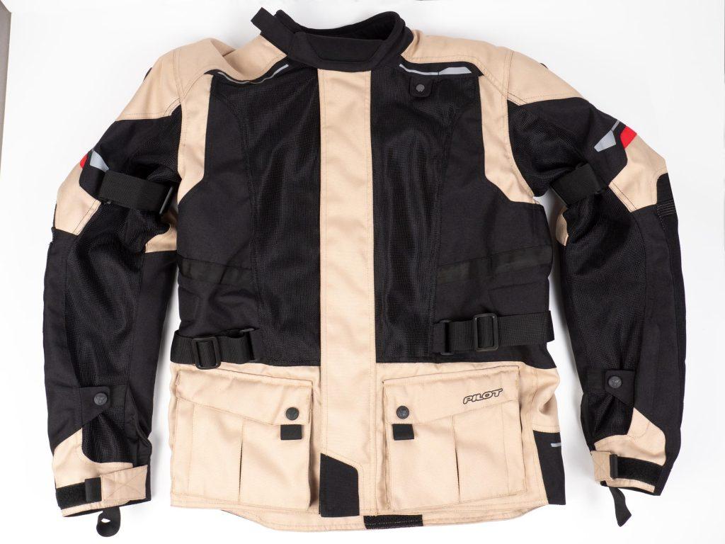 Pilot Motosport Elipsol Air Jacket Full Frontal View