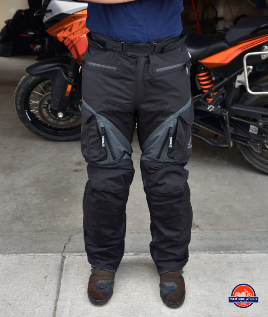 Rukka ROR Pants Full Frontal View As Shown On Model