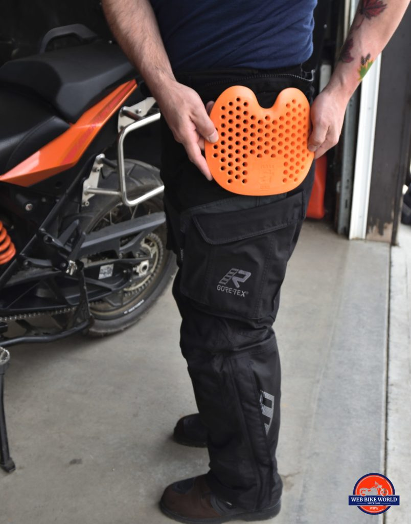 Rukka ROR Pants Orange Hip Armor