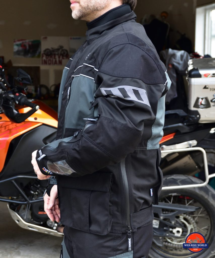 Rukka ROR Jacket Full Side View Showing Fit and Features