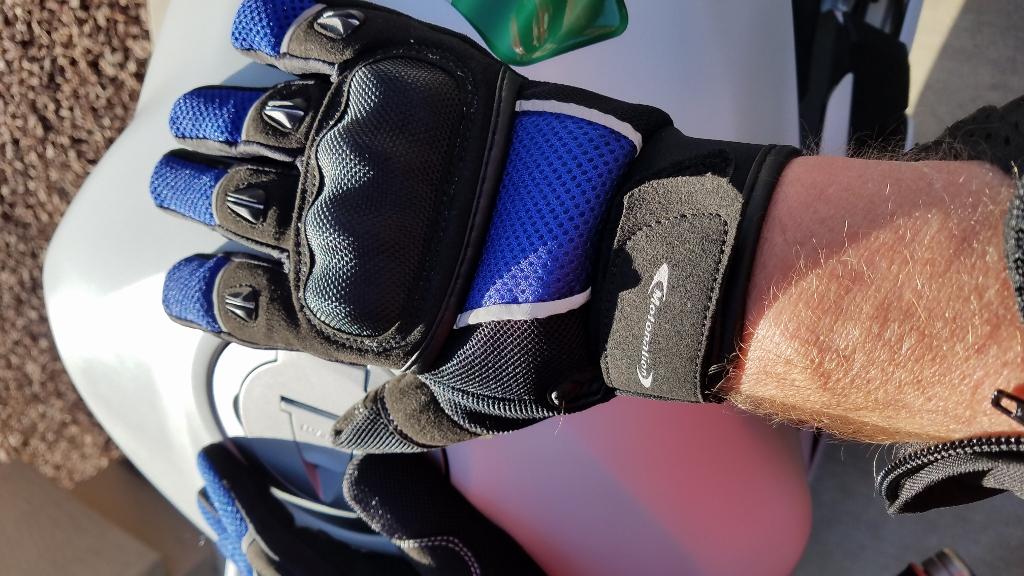 The Motonation Rapita Textile Mesh Gloves - Hands On Review