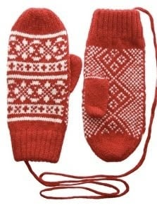 Red Colored Hand Mittens