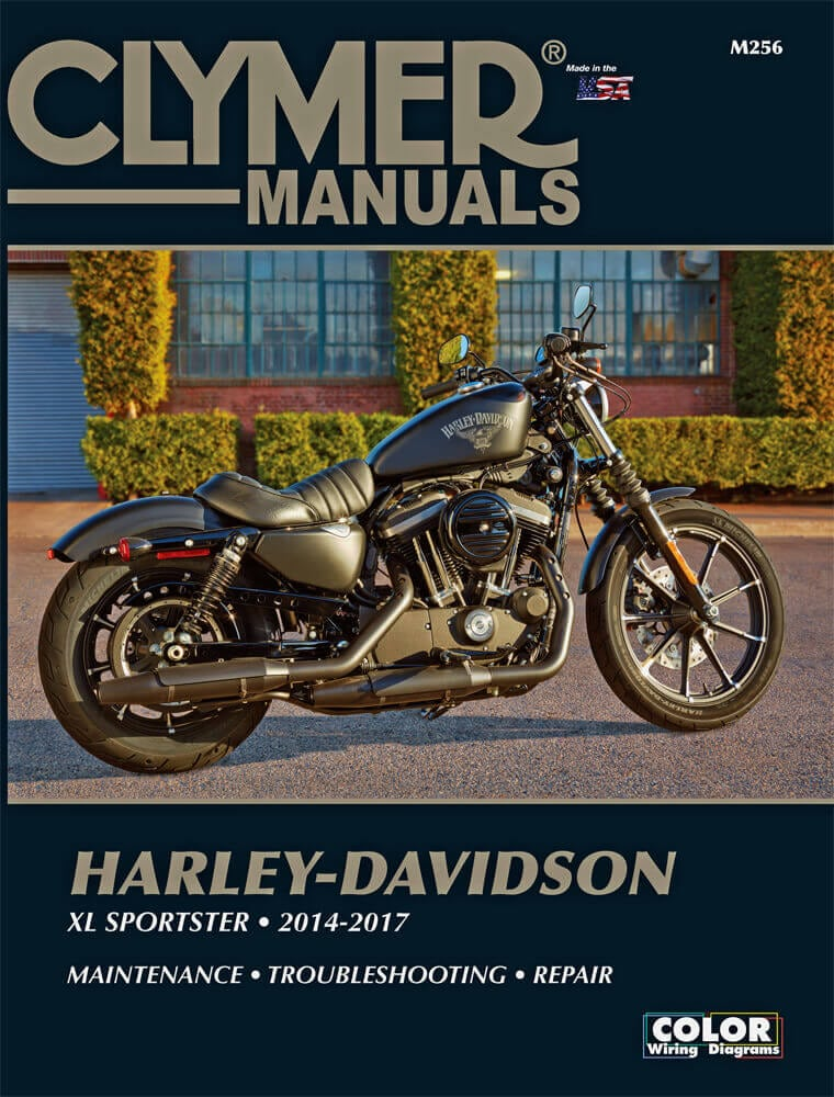 Clymer Repair Manual 2014-2017 Harley-Davidson