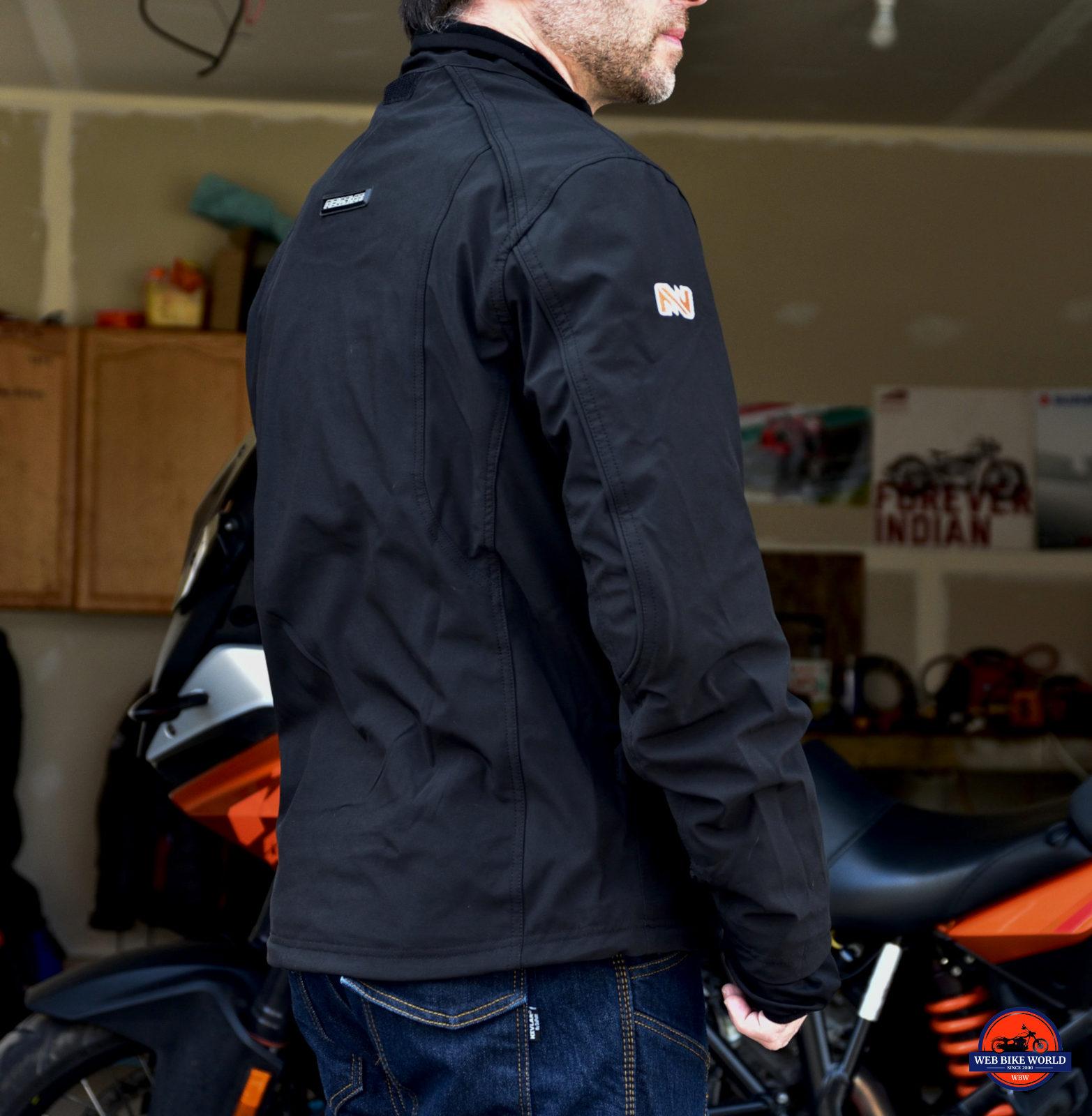 Fieldsheer Hydro Heat Textile Jacket Inner Liner Jacket Back