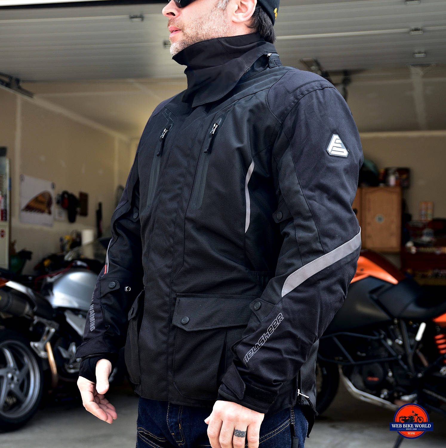 Fieldsheer Hydro Heat Textile Jacket Side View On Model
