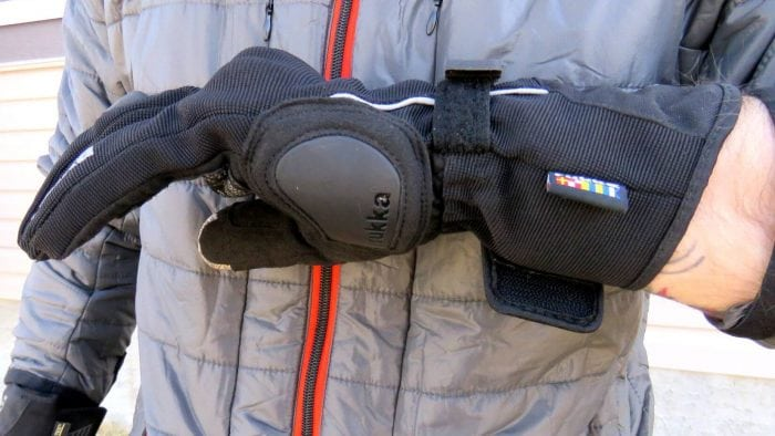 Rukka Virium Gore-Tex X-Trafit Gloves Side View Left Glove
