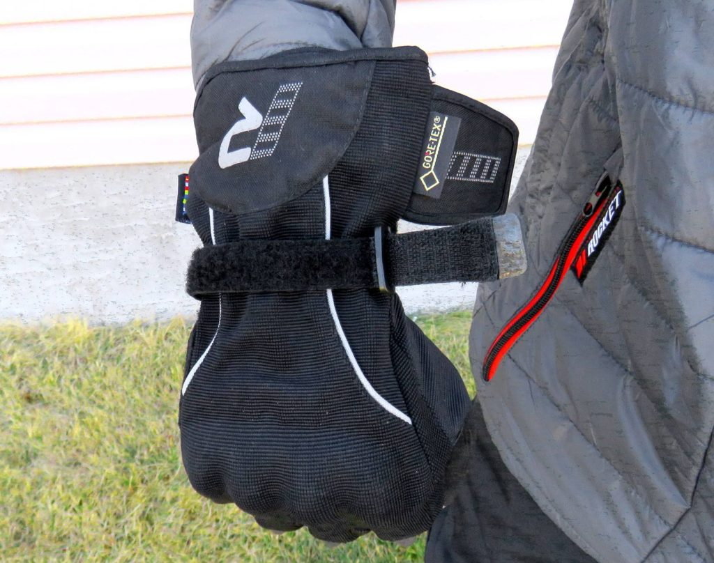 Rukka Virium Gore-Tex X-Trafit Gloves Undone Velcro Strap