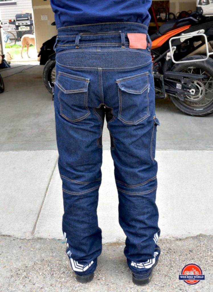 Trilobyte Probut X-Factor Cordura Denim Jeans Rear View