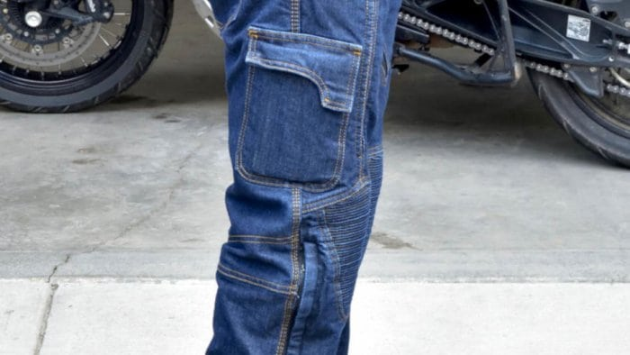 Trilobyte Probut X-Factor Cordura Denim Jeans Side View