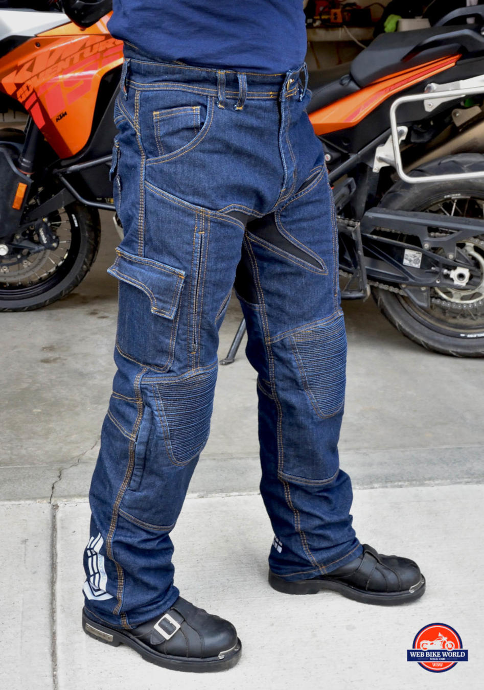 Trilobyte Probut X-Factor Cordura Denim Jeans Off-side View