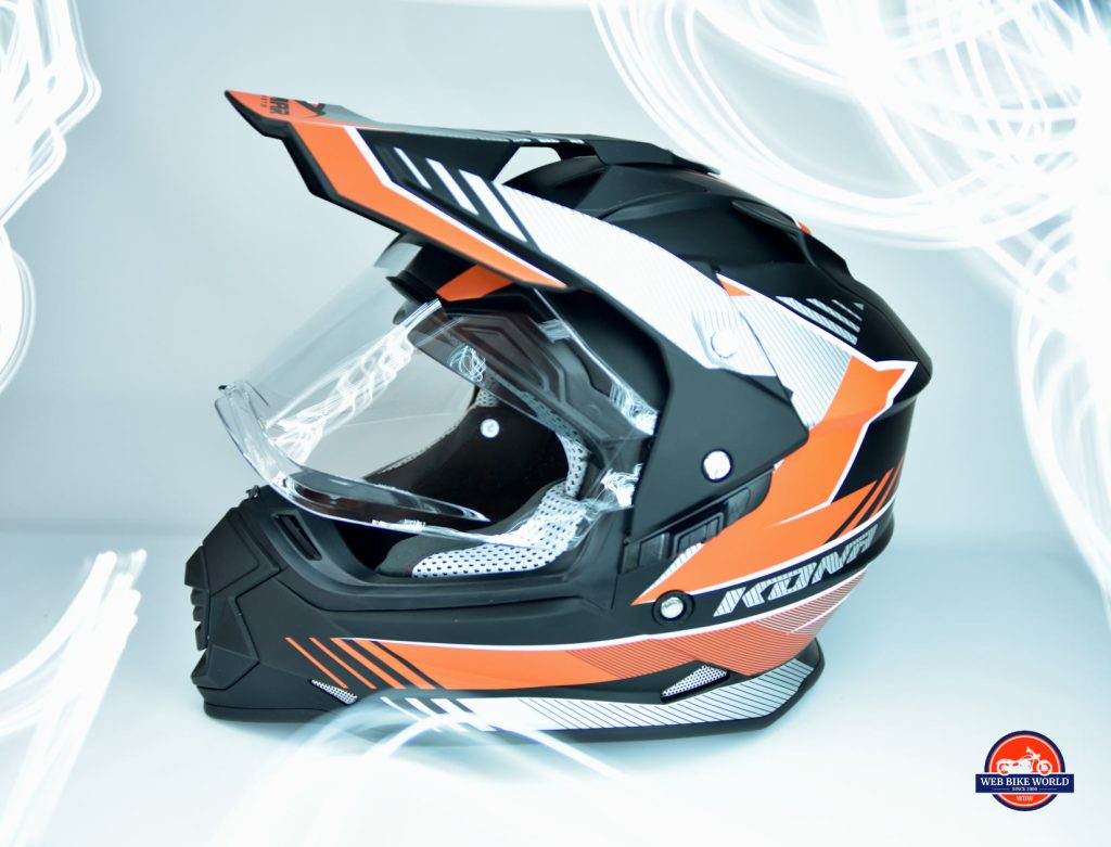 Vemar Kona Graphic Helmet Side View Stylized