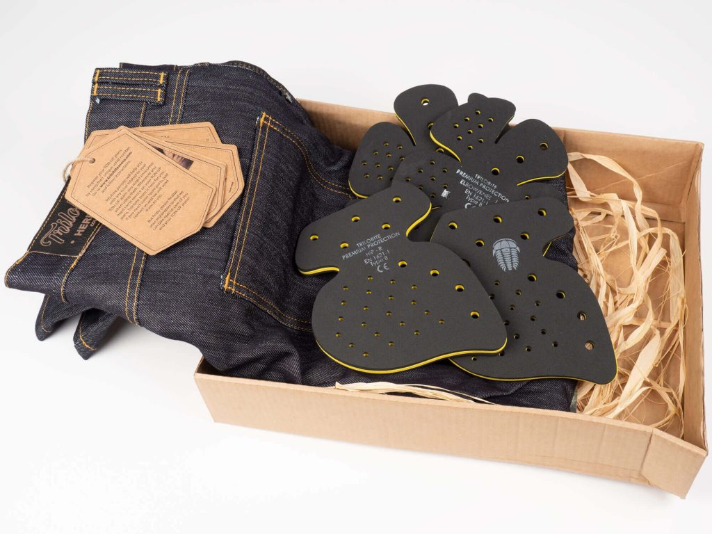 Trilobite 1860 Ton-Up Jeans + Armor in Packaging