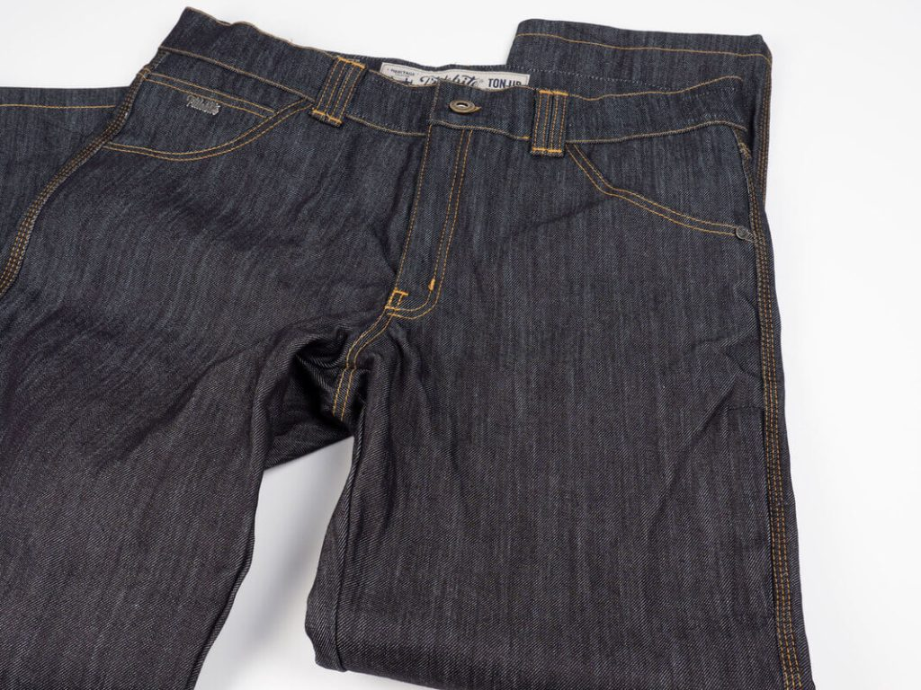 Trilobite 1860 Ton-Up Jeans Folded Front
