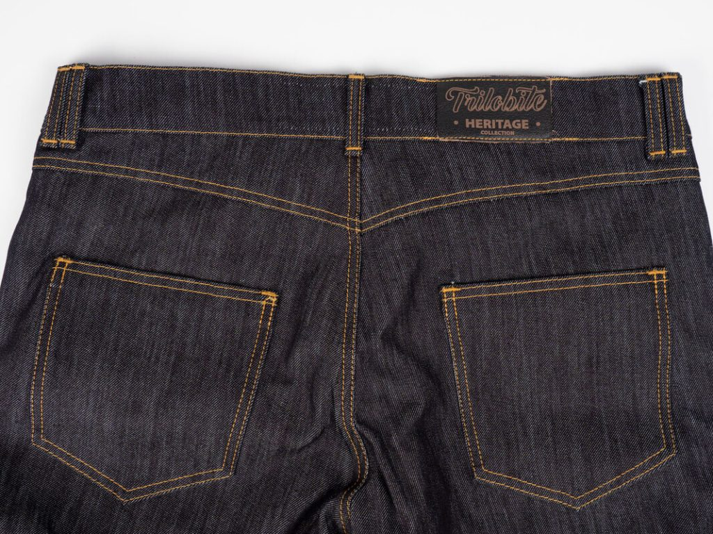 Trilobite 1860 Ton-Up Jeans Backview Rear