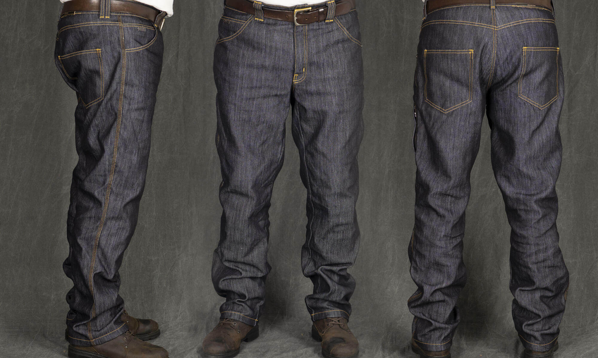 Trilobite 1860 Ton-Up Jeans 3 Different Angles