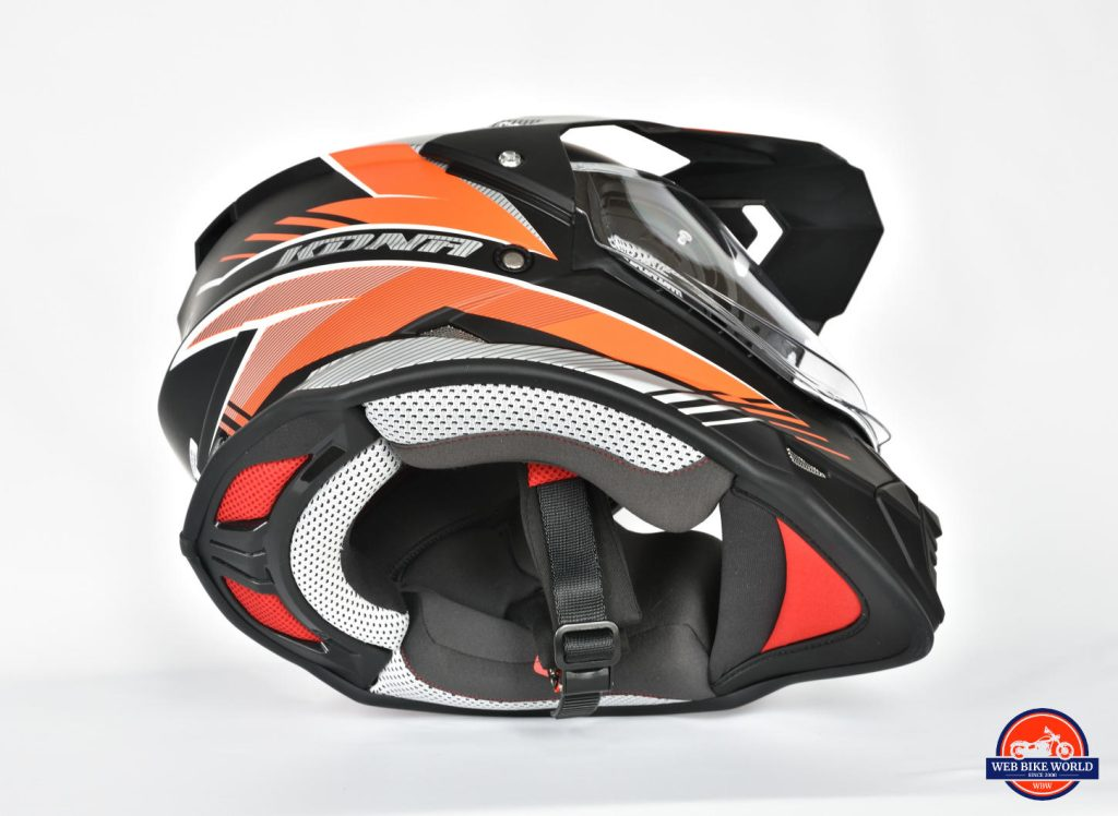 Vemar Kona Graphic Helmet Underside Off-side View