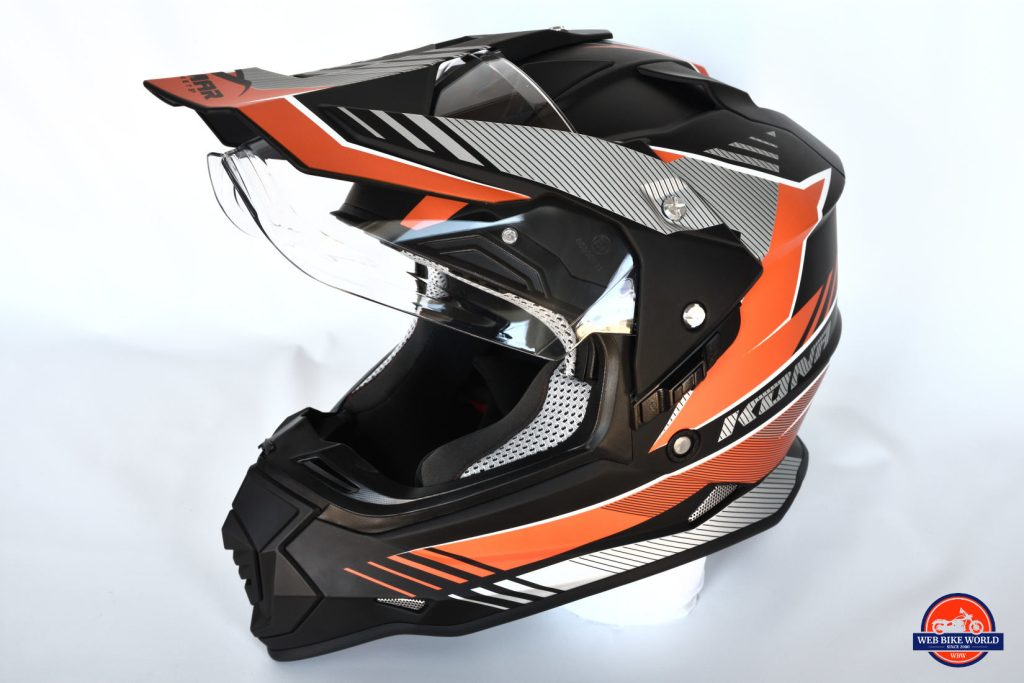 Vemar Kona Graphic Helmet Full Off-side View