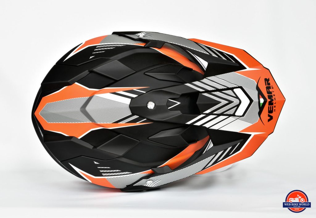 Vemar Kona Graphic Helmet Top View