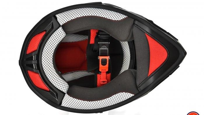 Vemar Kona Graphic Helmet Underside View Padding