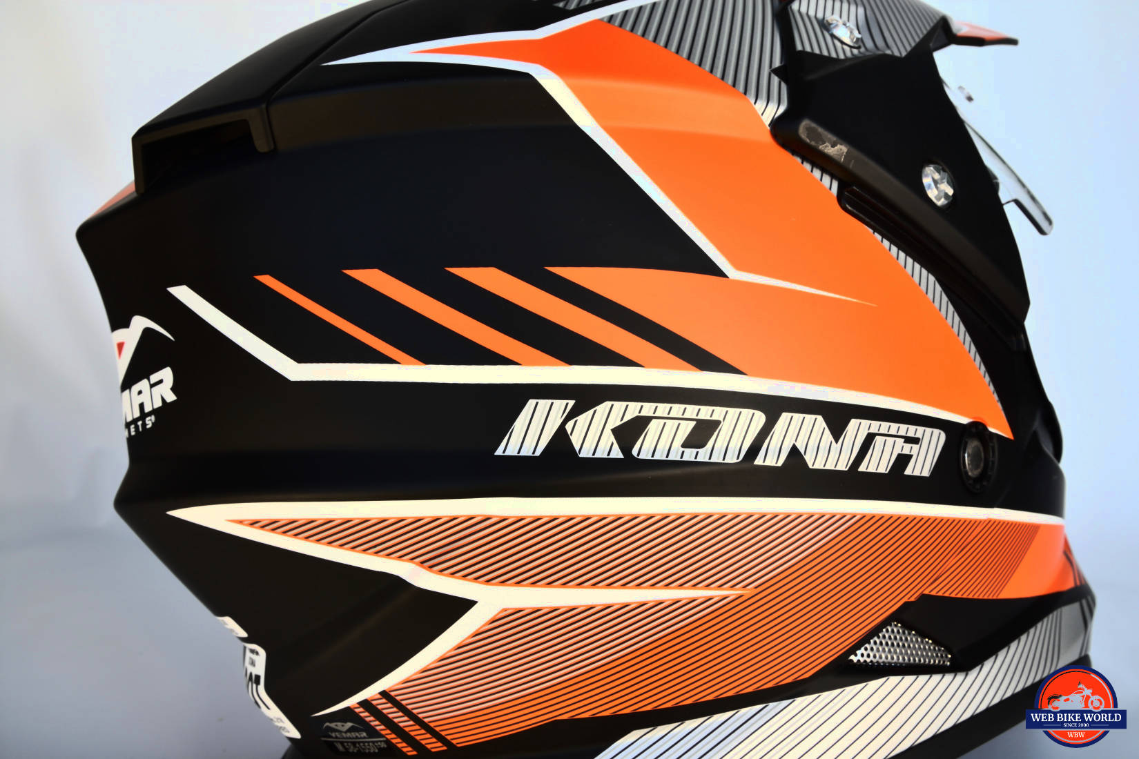 Vemar Kona Graphic Helmet Side View