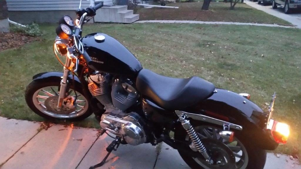 2008 Harley Davidson XL Side View