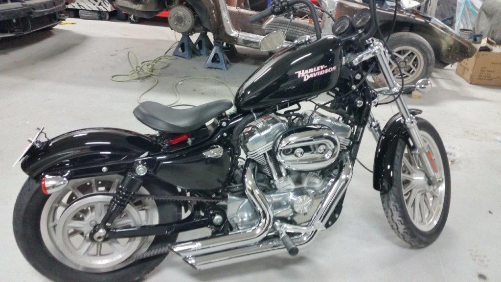 2008 Harley Davidson XL With Mods