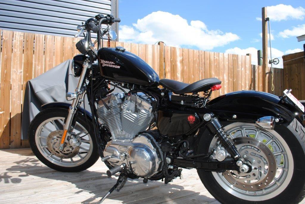 2008 Harley Davidson XL Finished Product