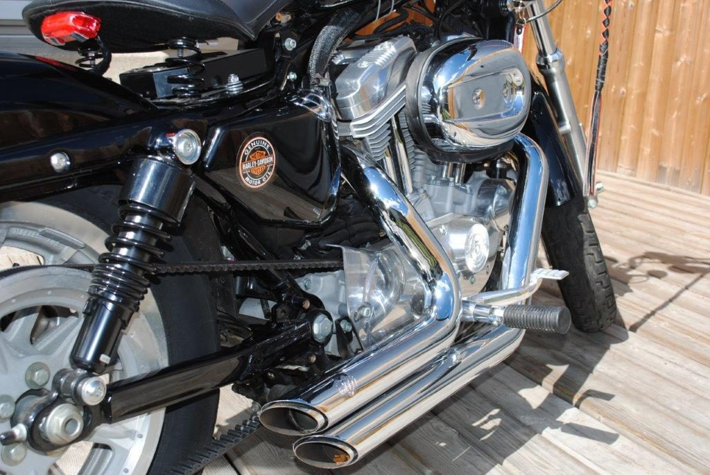 2008 Harley Davidson XL Closeup of Bike Mods