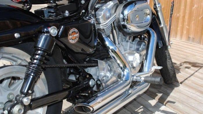 2008 Harley Davidson XL Closeup of Bike Mods