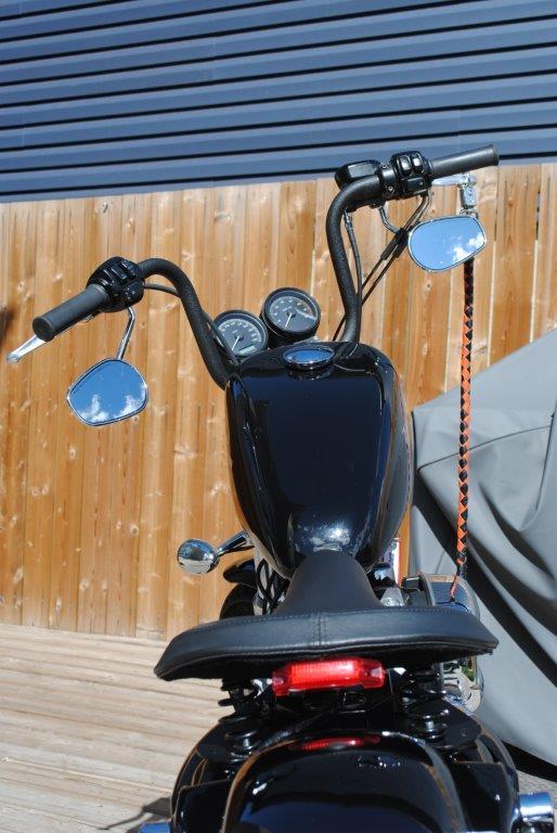 2008 Harley Davidson XL Top Down View