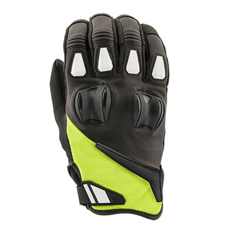 Joe Rocket Canada Atomic Textile Gloves In Hi-Viz Yellow