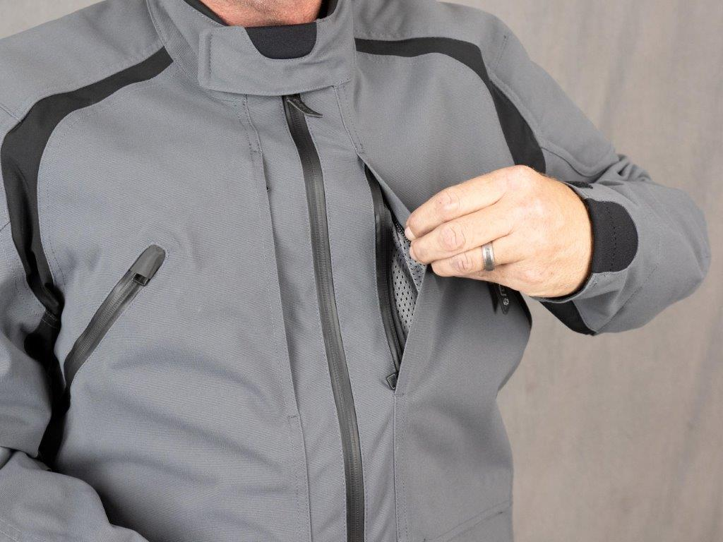 REAX Ridge Textile Jacket Front Chest Zipper Vents