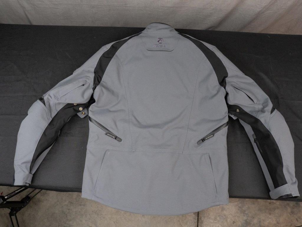 REAX Ridge Textile Jacket Full Back View