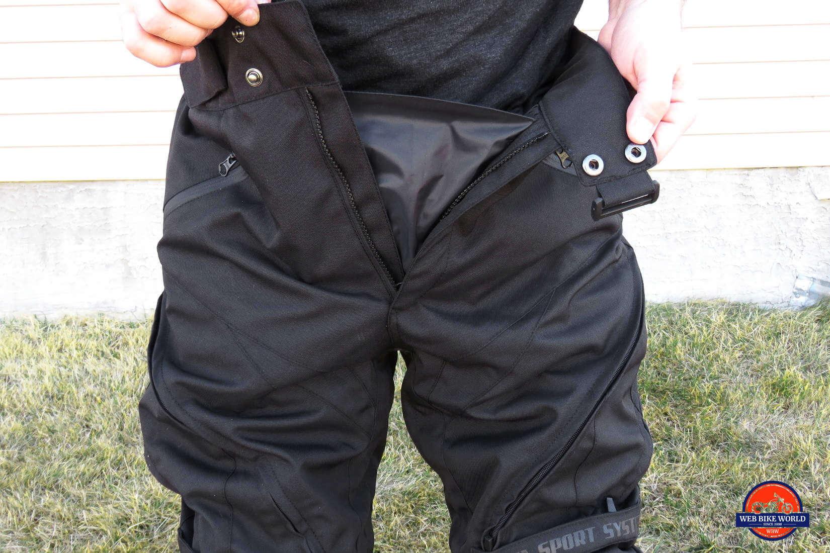 10e853769325 Joe Rocket Canada Alter Ego 13 Pants Closeup Front Pockets