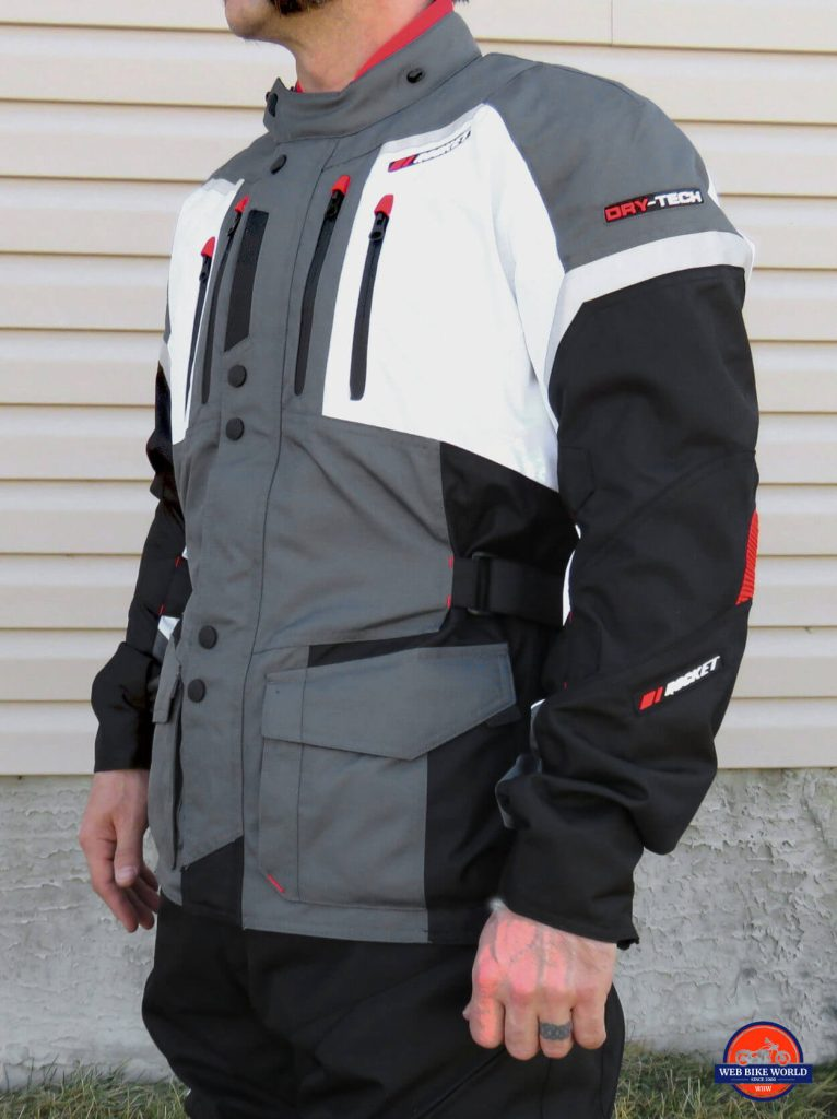 Joe Rocket Canada Ballistic 14 Jacket Off-side View