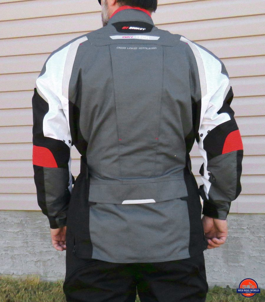 Joe Rocket Canada Ballistic 14 Jacket Back View
