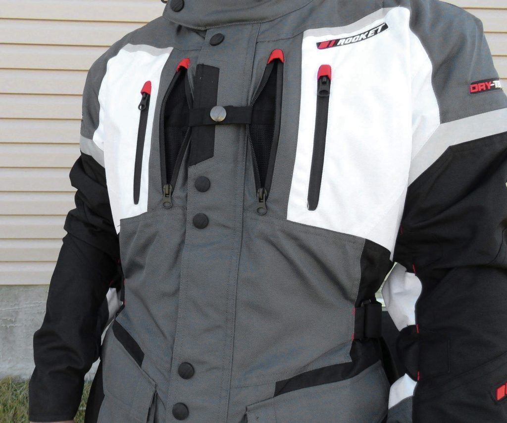 Joe Rocket Canada Ballistic 14 Jacket Ventilation Features