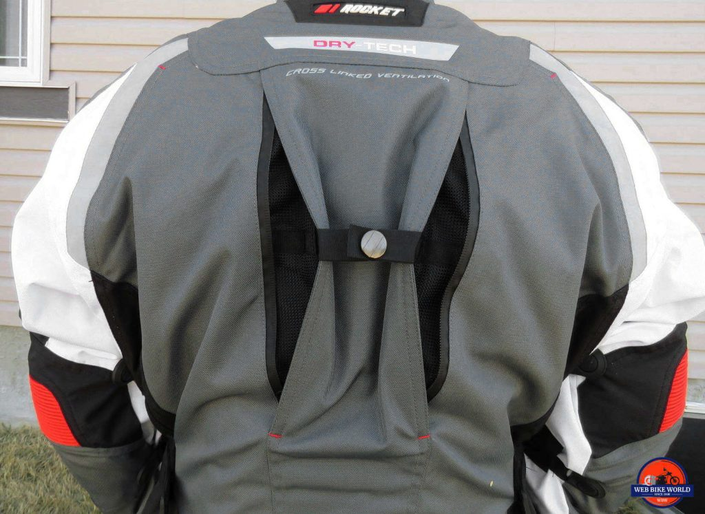 Joe Rocket Canada Ballistic 14 Jacket Back Ventilation Features